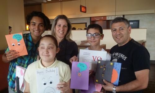 Savannah S Cards 4 Kids My Charity 4 Kids Volunteer One